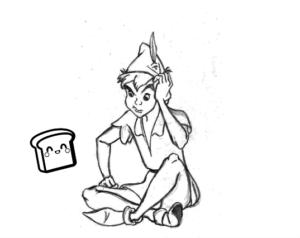 peter pan dibujo