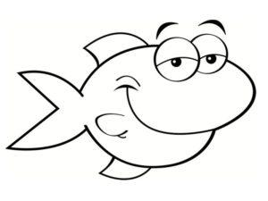 un pescado animado