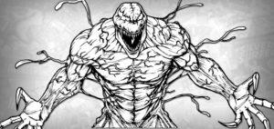 dibujos animados de venom