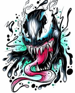 dibujos de anti venom