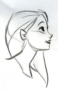 dibujos de personajes de disney kawaii