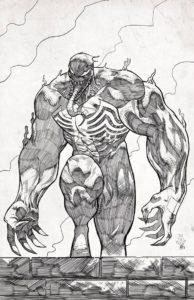 dibujos de venom y spiderman