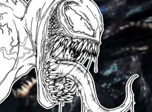 dibujos para colorear de venom y carnage