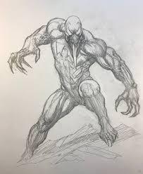 imagenes para dibujar de venom