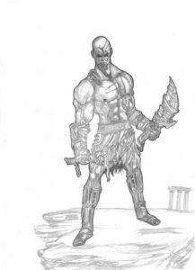 Kratos lápiz