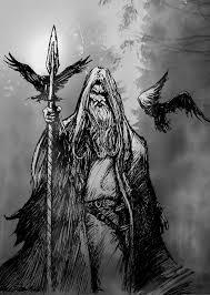 dibujos a lapiz de barcos vikingos odin