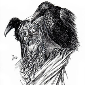 dibujos de escudos vikingos odin