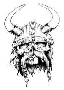 dibujos de viki el vikingo odin