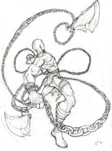 dibujos en kratos