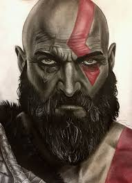 fotos de dibujos de kratos