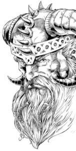 imagenes de odin para dibujar