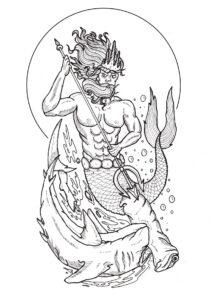 imagenes de poseidon de los caballeros del zodiaco