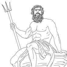imagenes de poseidon dios griego