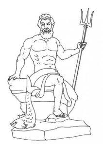 imagenes de poseidon mitologia griega