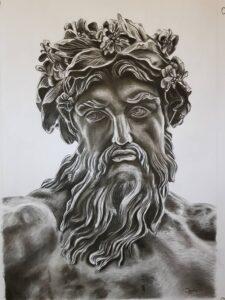 imagenes para dibujar de zeus