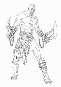 kratos para dibujar