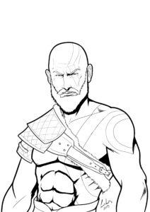 los mejores dibujos de kratos