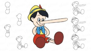 pinocho dibujos animados en español completo
